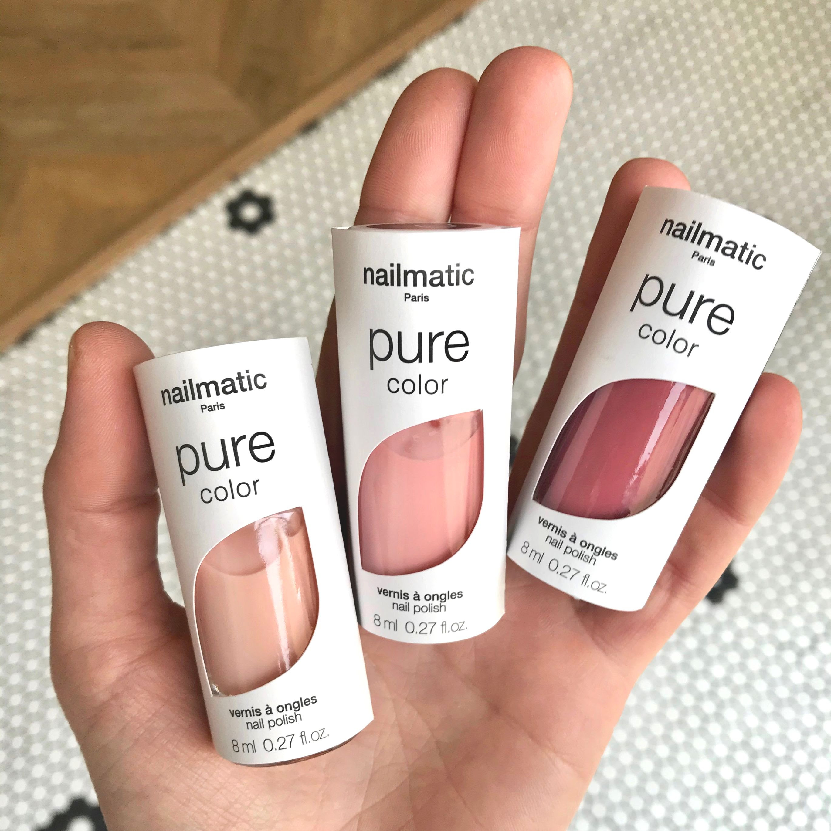 vernis à ongle nailmatic pure